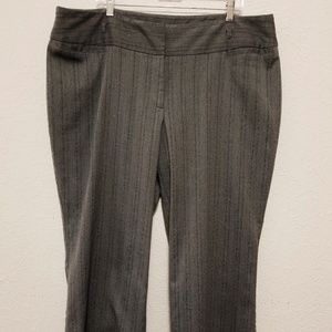 Lane Bryant Women's Pants Size 22 Gray